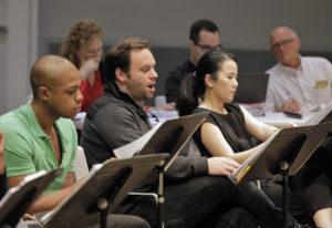 Adams SFO rehearsal