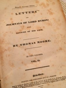 Moore Byron biography