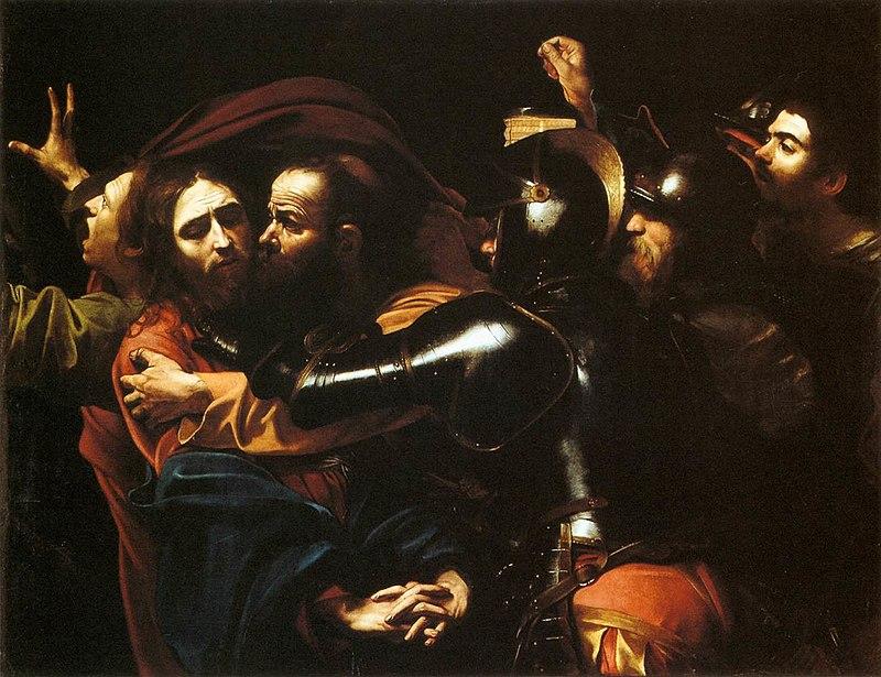Caravaggio Christ painting