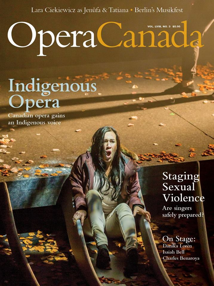 Indigenous magazine cover