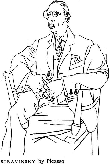 Picasso Stravinsky