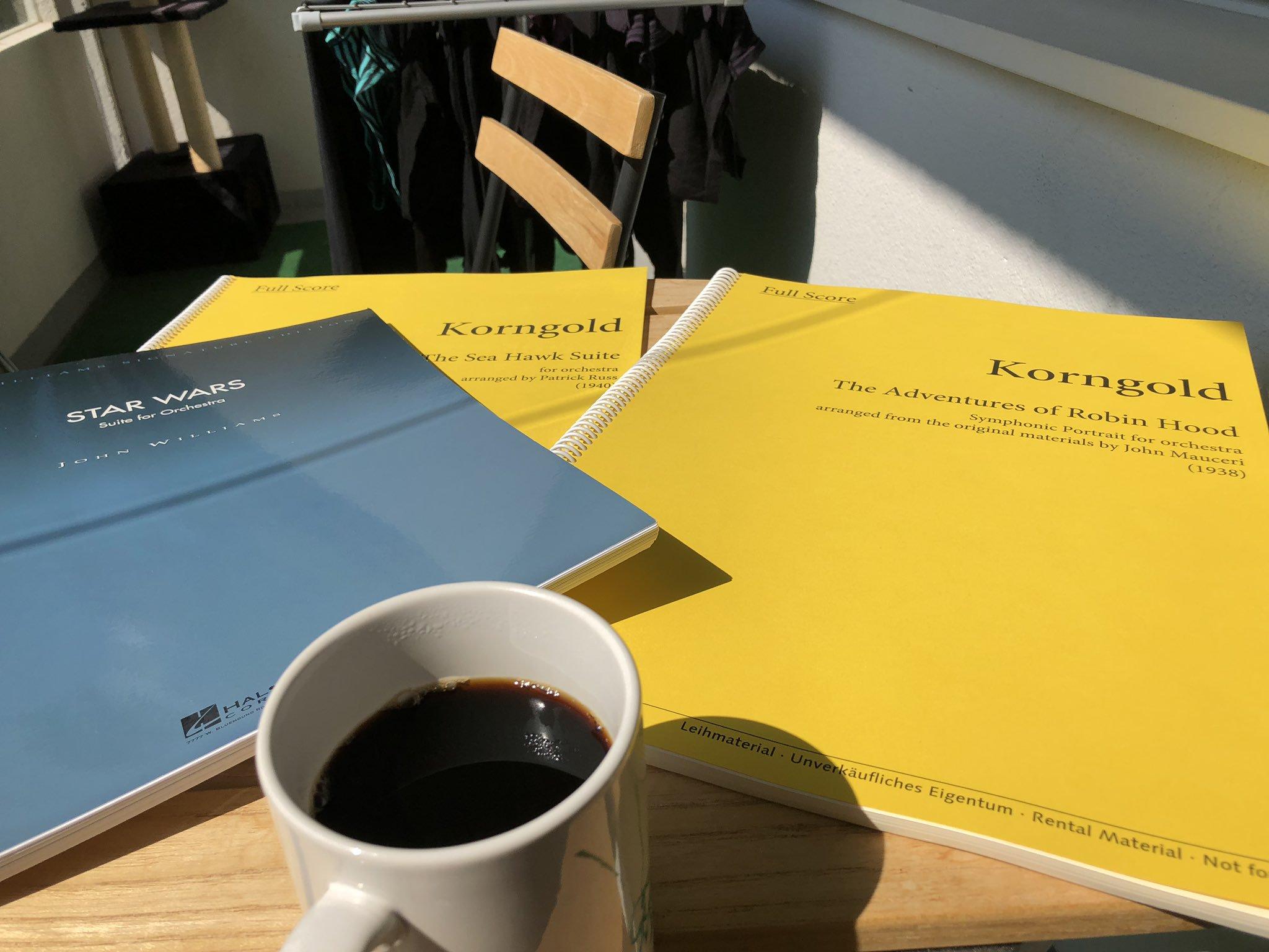 Jari Kallio, scores, Bärenreiter, publishing, music, coffee, perusal