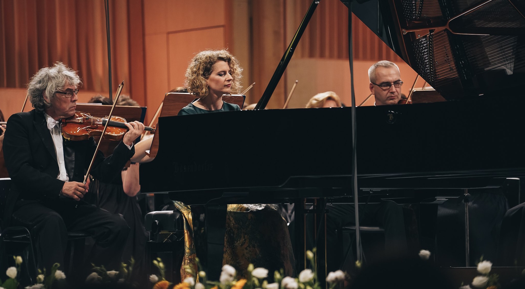piano pianist Silocea music classical performance culture stage live Romania orchestra Bosendorfer