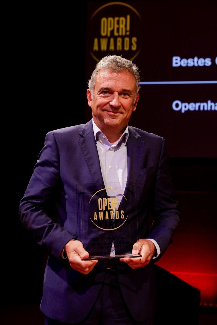 Homoki director oper opera award Zurich Intendant