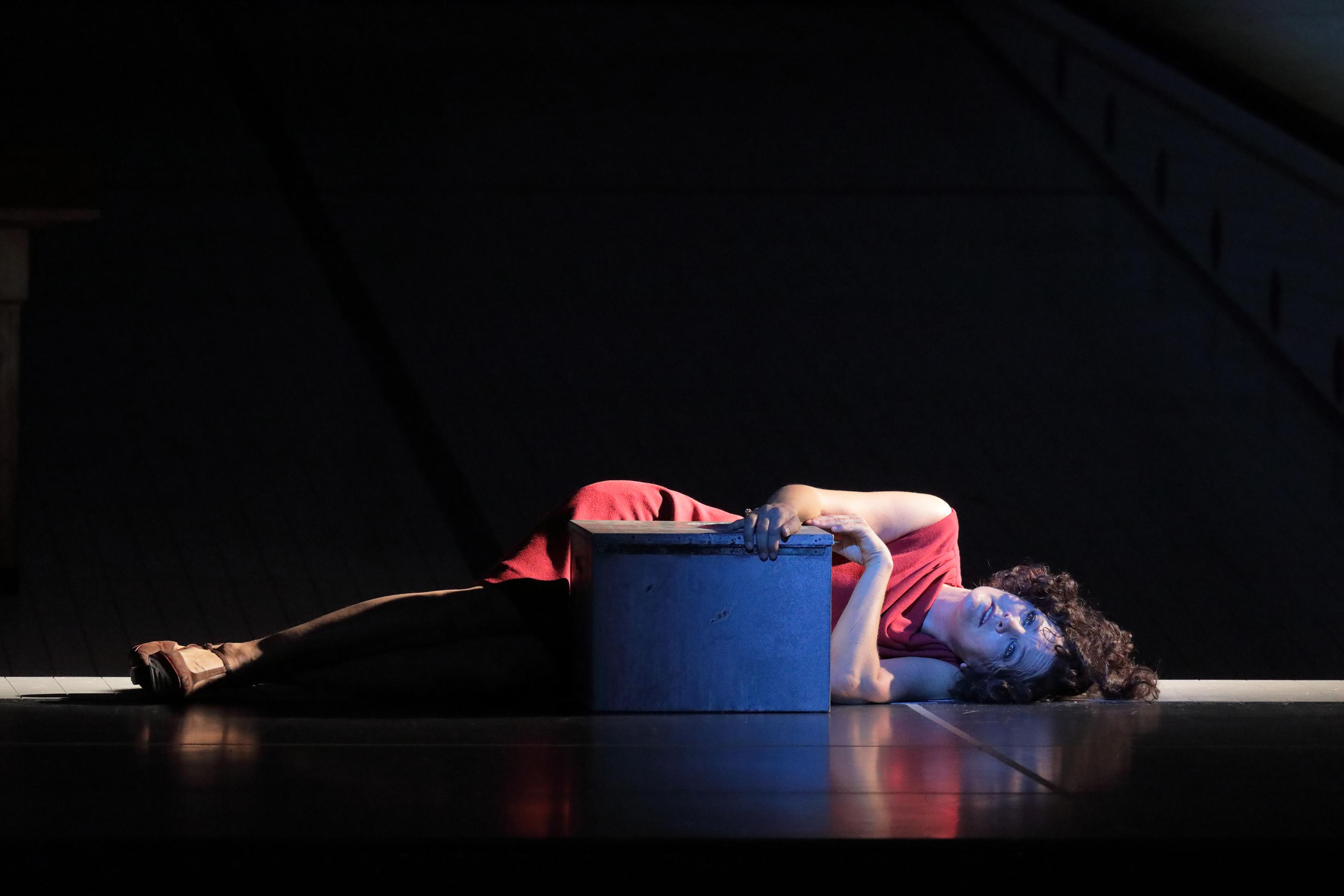 Salome Strauss Marlis Petersen soprano stage performance classical opera Krzysztof Warlikowski
