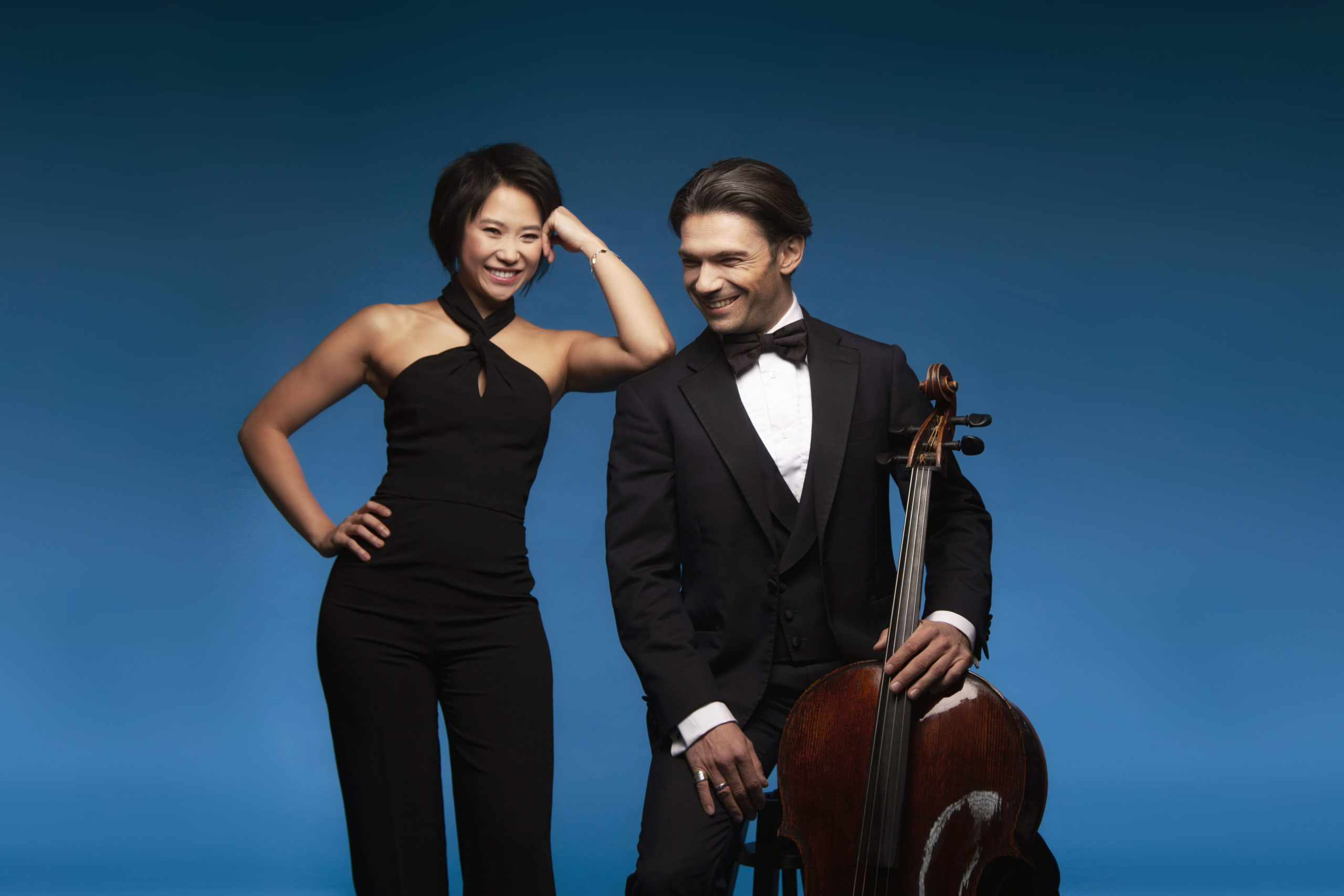 Gautier Capucon Yuja Wang cello piano classical music performance recording artists album Warner Classics Koerner Hall Chopin Franck