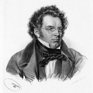 Schubert composer German lieder portrait drawing sketch music classical