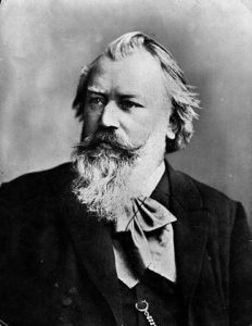 portrait Brahms German composer classical music culture history