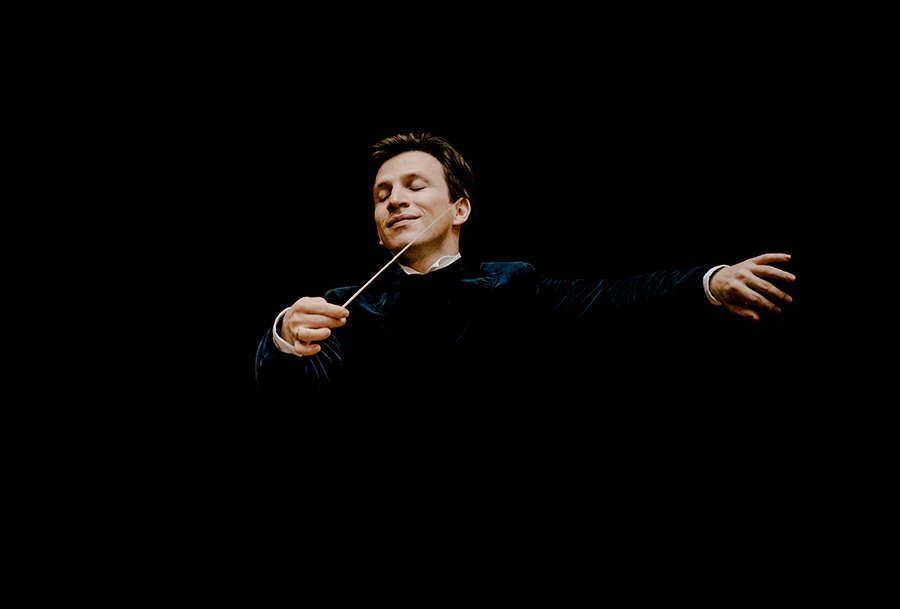 conductor Meister German baton hands music culture expression maestro