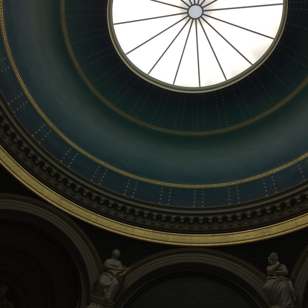 Alte Nationalgalerie, Berlin, dome, architecture, Germany