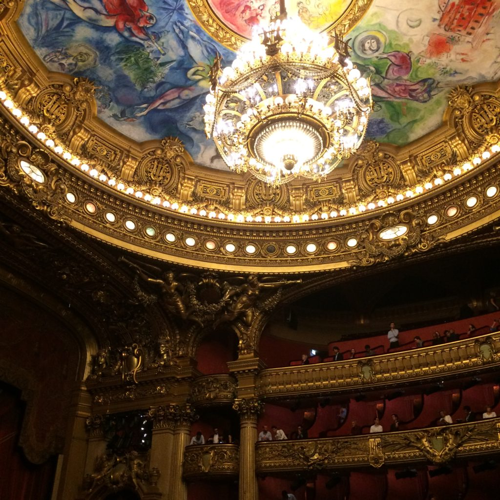 Paris, Palais Garnier, opera, France, art, auditorium, Chagall, culture, history