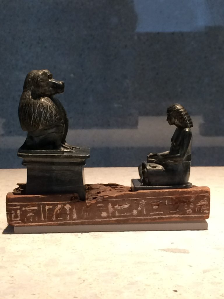 carving, Thoth, baboon, scribe, god, work, writing, writers, discipline, sculpture, Egyptian