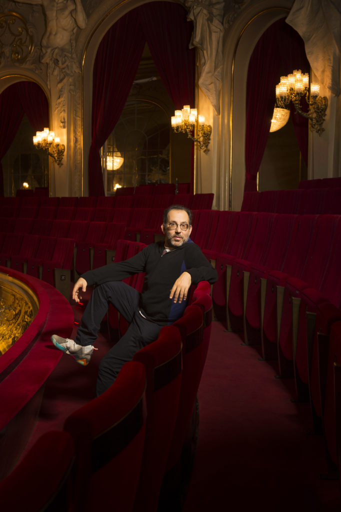 Kosky, director, Komische Oper Berlin, portrait, Intendant, Berlin