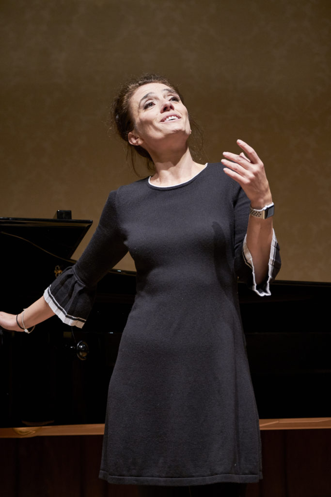 Ermonela Jaho, soprano, performance, singer, singing, live, voice, vocal, concert, recital, Wigmore Hall, London, opera, Opera Rara