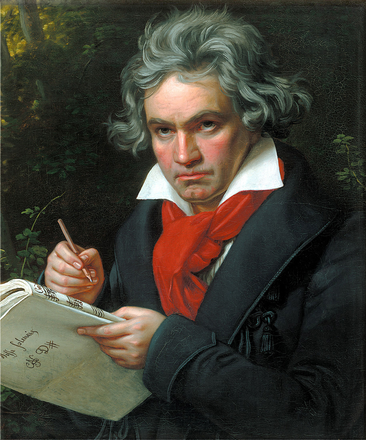 Beethoven, classical, composer, music, German, portrait, Stieler
