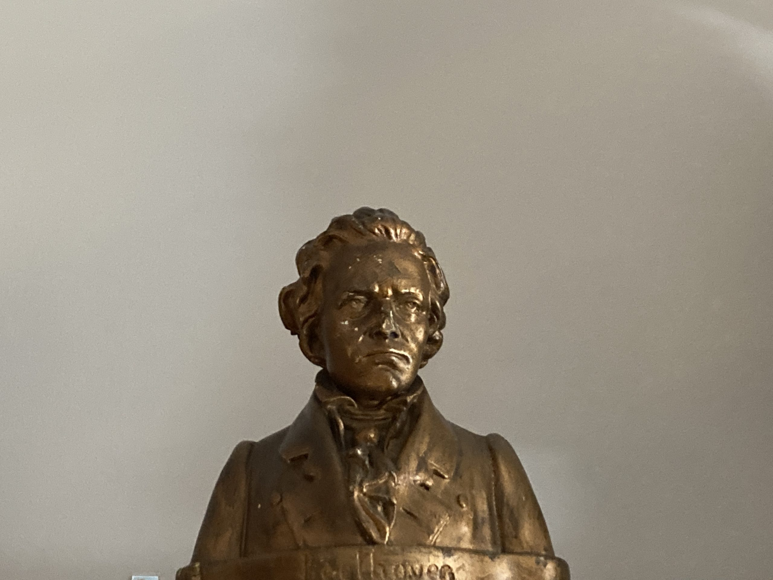 Beethoven, classical, bust, music, decor, composer