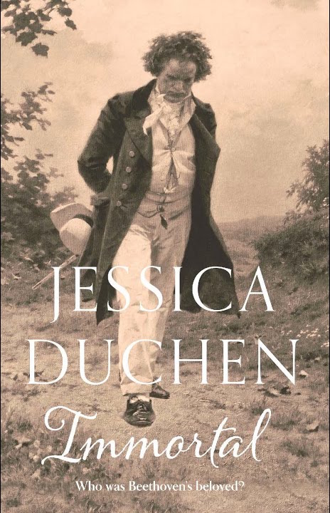book, novel, Beethoven, history, music, fiction, Unbound, Jessica Duchen, immortal beloved, classical