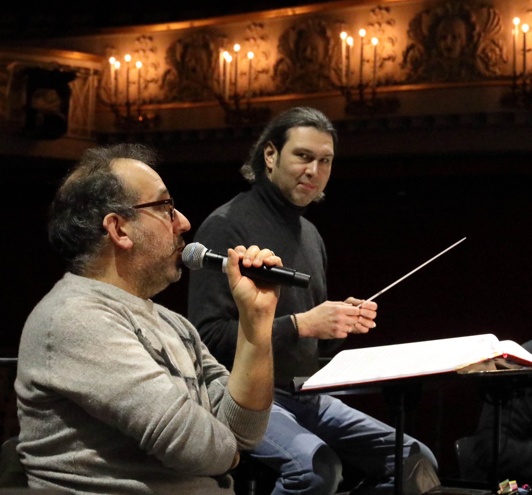 Jurowski, Kosky, rehearsal, probe, Munich, Bayerische Staatsoper, Der Rosenkavalier, opera, classical, music
