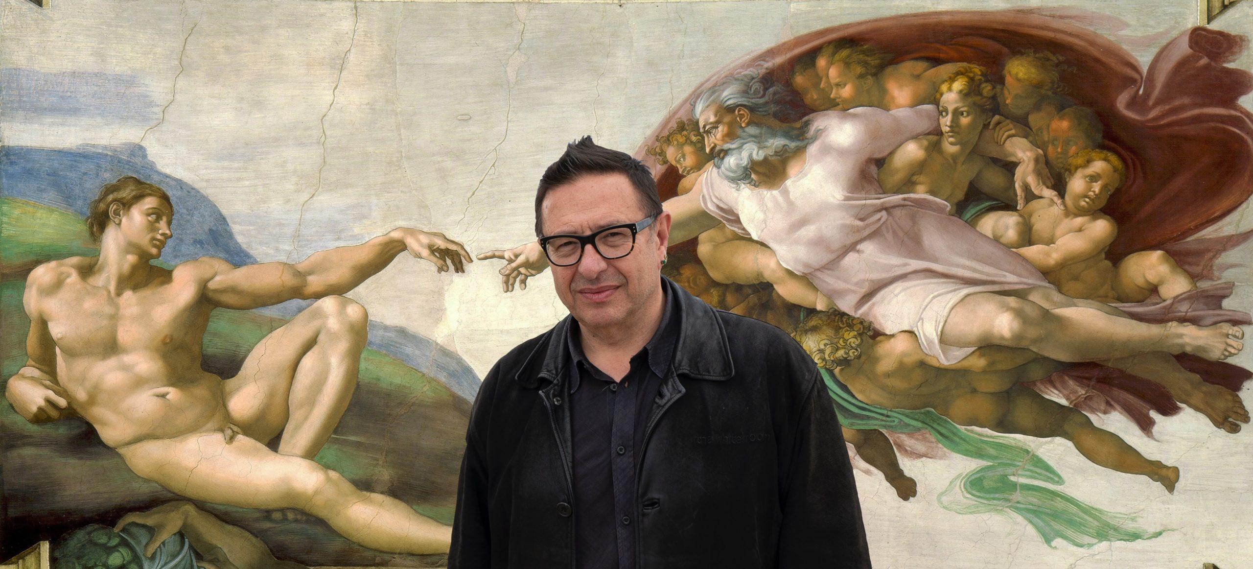 Waldemar Januszczak, art, Michelangelo, Sky Arts, writer, broadcaster, host, documentary, culture, The Times, Polish