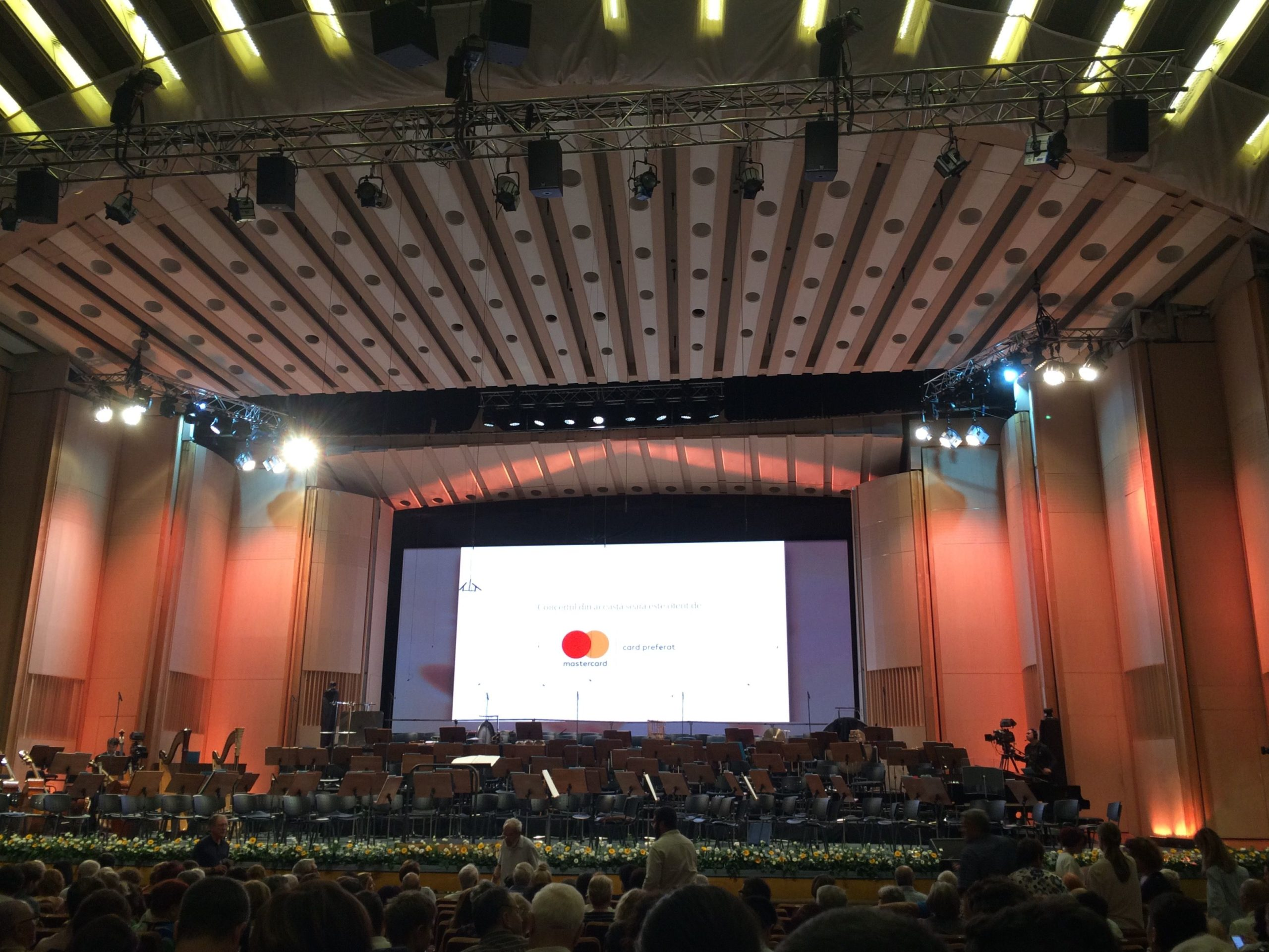 Sala Palatului, Bucharest, Romania, performance, venue, culture, Enescu Festival, immense, acoustics, architecture